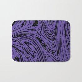Ultraviolet Marble Bath Mat