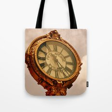 5th Avenue Clock Tote Bag