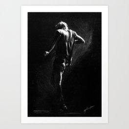 TMH Harry Art Print