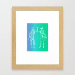 Gimme 5 Framed Art Print