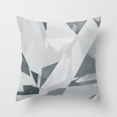 Ice cracks #1 Throw Pillow