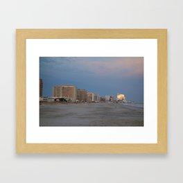 Atlantic City, NJ Framed Art Print