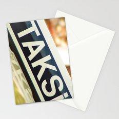Taksi Stationery Cards