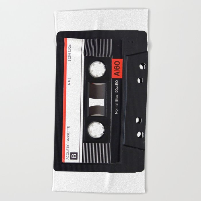 Old School Tape Beach Towel