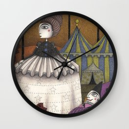 A Day in Autumn Wall Clock