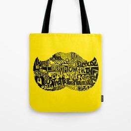 22 Staches Tote Bag