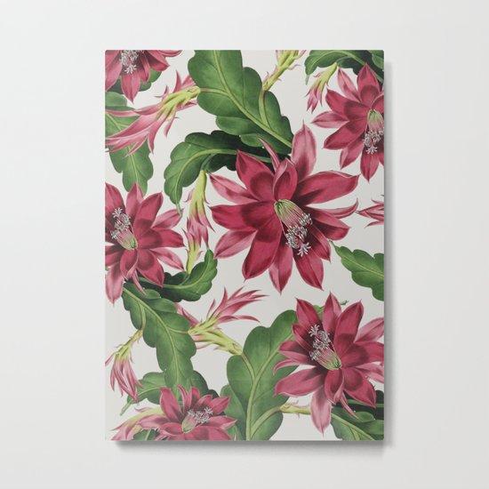 FLOWERS 11b Metal Print