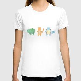 Pokesquare Starters T-shirt