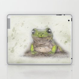 Jeremiah was a bullfrog Laptop & iPad Skin