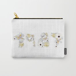 White Flower 1987 Carry-All Pouch