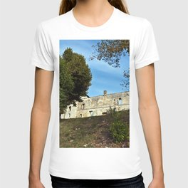 Abbey in south-west of France T-shirt