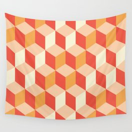 Geometry Sunset Wall Tapestry