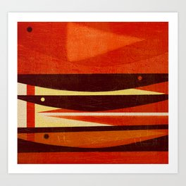 Needlefish Art Print