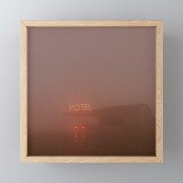 Motel Framed Mini Art Print