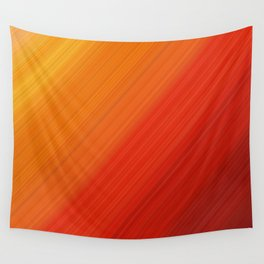 Linear Fire Wall Tapestry