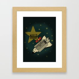 Star in the service Framed Art Print