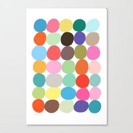 Big Bright Spots Canvas Print