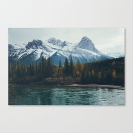 mountain river Canvas Print