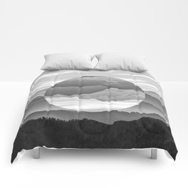 Geo Nature Mountains Comforters