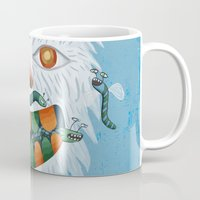 yeti Mugs featuring Yeti by Santiago Uceda