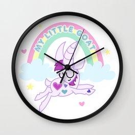 Dashing Darling - My Little Goat Wall Clock