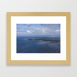 Maguins Island, Inishmulclohy and Rosses Point on the Wild Atlantic Way Framed Art Print