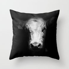 Cow 3141 Throw Pillow