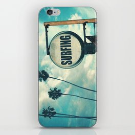 Surfing Sign iPhone Skin