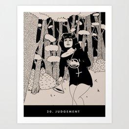 20. JUDGEMENT Art Print