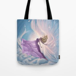 Lemurian Goddess of Air Tote Bag