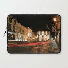 Ponta Delgada at night Laptop Sleeve