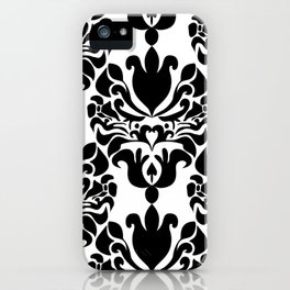 Black & White iPhone Case