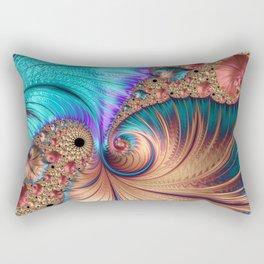 Curling Infinity Rectangular Pillow