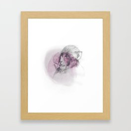 LUNG MONKEY Framed Art Print