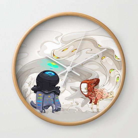 Consumption Wall Clock