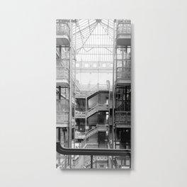 Bradbury Building, Downtown Los Angeles Metal Print