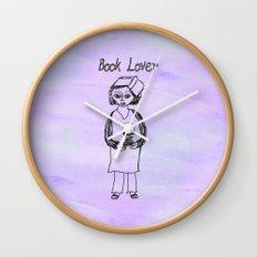 Book Lover Wall Clock