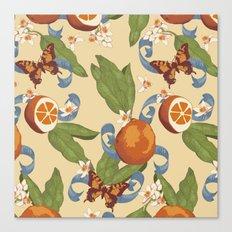 Botanical Oranges Canvas Print