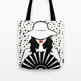 Stylish woman Tote Bag