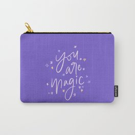You are Magic // in Purple Carry-All Pouch