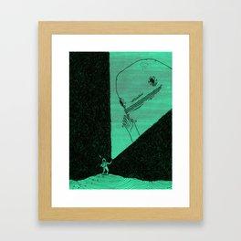 Oh Hello Framed Art Print