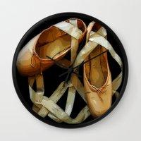 ballet Wall Clocks featuring Ballet by Müge Başak