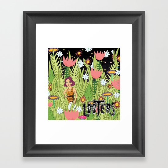 LOOTERS Framed Art Print