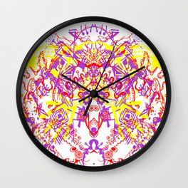 hands to the sky Wall Clock