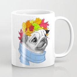 Autumn pug #2 Coffee Mug