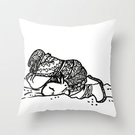 Arctic Snuggles Throw Pillow