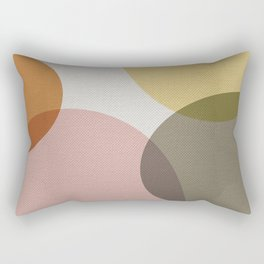 Pastel Shapes II Rectangular Pillow