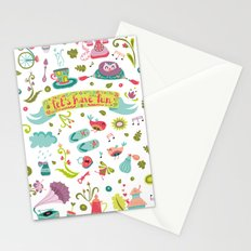 Let's have some FUN Stationery Cards