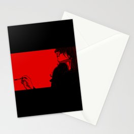 Smoking (Black on Red Variant) Stationery Cards