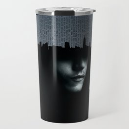 Mr Robot Typography Travel Mug